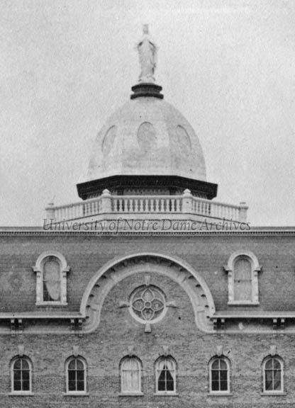 Detail of the Second Main Building dome, c1866-1879