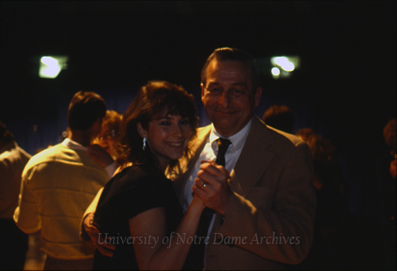 GPHR 21/01: Junior Parents Weekend (JPW) cocktail party and dance, 1989/0217.